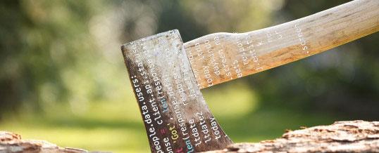 Sharpen the coding axe